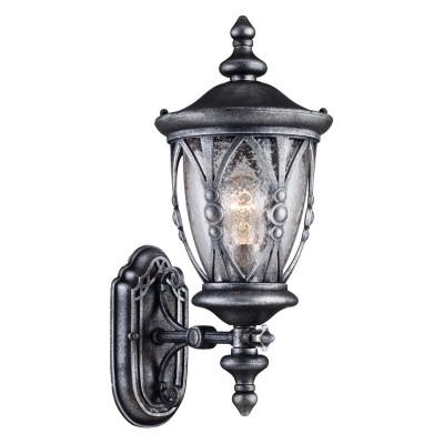 Светильник Maytoni S103-47-01-B Rua AugustaУличные настенные светильники<br>Обеспечение качественного уличного освещения – важная задача для владельцев коттеджей. Компания «Светодом» предлагает современные светильники, которые порадуют Вас отличным исполнением. В нашем каталоге представлена продукция известных производителей, пользующихся популярностью благодаря высокому качеству выпускаемых товаров. <br> Уличный светильник Maytoni S103-47-01-B не просто обеспечит качественное освещение, но и станет украшением Вашего участка. Модель выполнена из современных материалов и имеет влагозащитный корпус, благодаря которому ей не страшны осадки. <br> Купить уличный светильник Maytoni S103-47-01-B, представленный в нашем каталоге, можно с помощью онлайн-формы для заказа. Чтобы задать имеющиеся вопросы, звоните нам по указанным телефонам.<br><br>S освещ. до, м2: 3.3<br>Тип лампы: Накаливания / энергосбережения / светодиодная<br>Тип цоколя: E27<br>Цвет арматуры: Серый<br>Количество ламп: 1<br>Ширина, мм: 192<br>Диаметр, мм мм: 273<br>Глубина, мм: 273<br>Высота, мм: 462<br>Поверхность арматуры: матовая<br>Оттенок (цвет): серый<br>MAX мощность ламп, Вт: 60