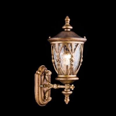 Светильник уличный Maytoni S103-47-01-R Rua AugustaУличные настенные светильники<br>Обеспечение качественного уличного освещения – важная задача для владельцев коттеджей. Компания «Светодом» предлагает современные светильники, которые порадуют Вас отличным исполнением. В нашем каталоге представлена продукция известных производителей, пользующихся популярностью благодаря высокому качеству выпускаемых товаров. <br> Уличный светильник Maytoni S103-47-01-R не просто обеспечит качественное освещение, но и станет украшением Вашего участка. Модель выполнена из современных материалов и имеет влагозащитный корпус, благодаря которому ей не страшны осадки. <br> Купить уличный светильник Maytoni S103-47-01-R, представленный в нашем каталоге, можно с помощью онлайн-формы для заказа. Чтобы задать имеющиеся вопросы, звоните нам по указанным телефонам.<br><br>Тип лампы: Накаливания / энергосбережения / светодиодная<br>Тип цоколя: E27<br>Цвет арматуры: золотой<br>Количество ламп: 1<br>Ширина, мм: 273<br>Расстояние от стены, мм: 192<br>Высота, мм: 461<br>MAX мощность ламп, Вт: 60