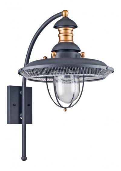 Настенный Фонарь Уличный Maytoni S105-57-01-G Magnificent MileНастенные<br><br><br>Тип товара: Настенный уличный фонарь<br>Тип цоколя: E27<br>Количество ламп: 1<br>Ширина, мм: 449<br>MAX мощность ламп, Вт: 60<br>Глубина, мм: 355<br>Высота, мм: 573