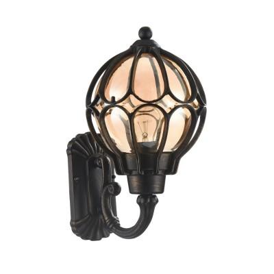 Уличный светильник Maytoni S110-26-01-R Champs ElyseesНастенные<br><br><br>Тип лампы: Накаливания / энергосбережения / светодиодная<br>Тип цоколя: E27<br>Цвет арматуры: Янтарный черный<br>Количество ламп: 1<br>Ширина, мм: 225<br>Расстояние от стены, мм: 265<br>Высота, мм: 395<br>MAX мощность ламп, Вт: 60