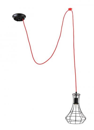 Подвесной светильник Donolux S111014/1одиночные подвесные светильники<br>Подвесной светильник – это универсальный вариант, подходящий для любой комнаты. Сегодня производители предлагают огромный выбор таких моделей по самым разным ценам. В каталоге интернет-магазина «Светодом» мы собрали большое количество интересных и оригинальных светильников по выгодной стоимости. Вы можете приобрести их в Москве, Екатеринбурге и любом другом городе России.  Подвесной светильник Donolux S111014/1 сразу же привлечет внимание Ваших гостей благодаря стильному исполнению. Благородный дизайн позволит использовать эту модель практически в любом интерьере. Она обеспечит достаточно света и при этом легко монтируется. Чтобы купить подвесной светильник Donolux S111014/1, воспользуйтесь формой на нашем сайте или позвоните менеджерам интернет-магазина.<br><br>S освещ. до, м2: 3<br>Крепление: Планка<br>Тип цоколя: Е27<br>Цвет арматуры: Черный, красный<br>Количество ламп: 1<br>Диаметр, мм мм: 220<br>Высота, мм: 300<br>MAX мощность ламп, Вт: 60