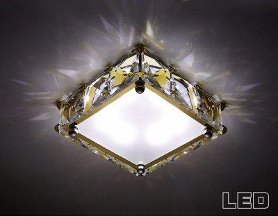 Купить Светильник Ambrella S50 G/W 4W 4200K LED, Россия