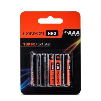 Батарейки Canyon NRG AAA (S6ALKAAA10) 10штМизинчиковые AAA<br><br>