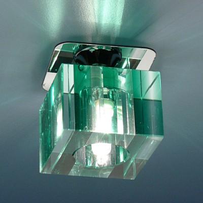 Светильник Электростандарт SD8024 GR зеленыйвстраиваемые светильники стекло<br>