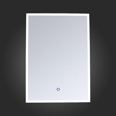 St Luce SL030.131.01 СветильникЗеркало с подсветкой <br>Если Вы настроены купить светильник модели SL03013101, то обратите внимание: Зеркала коллекции Speculo имеют LED подсветку и сенсорный выключатель. Это удобно в использовании, экономично и эстетично. Высокое качество исполнения, современный стиль, надежная конструкция, возможность монтажа зеркала в вертикальной и горизонтальной ориентации- вот основные достоинства моделей коллекции Speculo . Эти изделия прекрасно дополнят интерьер ванной комнаты, спальни , гостиной и прихожей.<br><br>Цветовая t, К: 4000<br>Тип лампы: LED<br>Тип цоколя: LED<br>Ширина, мм: 500<br>MAX мощность ламп, Вт: 35<br>Высота, мм: 700