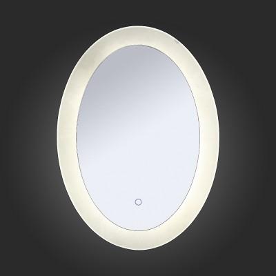 St Luce SL030.141.01 СветильникЗеркало с подсветкой <br><br><br>Цветовая t, К: 4000<br>Тип лампы: LED<br>Ширина, мм: 500<br>MAX мощность ламп, Вт: 35<br>Высота, мм: 700
