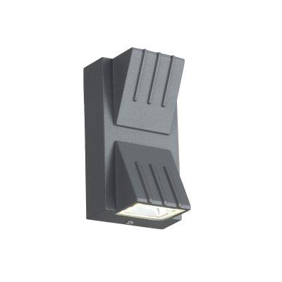 Купить SL092.701.02 Светильник уличный настенный ST-Luce Серый кварцевый/Серый кварцевый, Прозрачный LED 2*, SL09270102, St luce, Китай