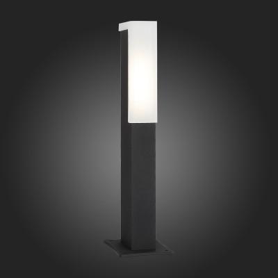 Светильник St Luce SL096.405.02Одиночные столбы<br>Модели коллекции Posto создадут комфортное освещение на участке загородного дома, клуба, гостиницы или административного здания, заполнят пространство светом и уютом. Основания светильников изготовлены из металла и окрашены в чёрный цвет. Источник света LED закрыт белым матовым акрилом. Модели коллекции Posto даже осенний вечер сделают уютным и приятным.<br><br>Цветовая t, К: 4000<br>Тип лампы: LED<br>Тип цоколя: LED<br>Цвет арматуры: черный<br>Ширина, мм: 47<br>Длина, мм: 77<br>Высота, мм: 400<br>MAX мощность ламп, Вт: 4