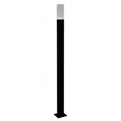 Светильник St Luce SL101.415.01Одиночные столбы<br>Если Вы настроены купить светильник модели SL10141501, то обратите внимание: Простота и лаконичность, строгость и изысканность присущи моделям коллекции Vivo. Массивное металлическое основании выполнено в виде призмы и окрашено в строгий черный или серый цвет. Мягкие лучи источника света LED равномерно рассеиваются белым матовым стеклом плафона. . Уличные лампы коллекции Vivo наполнят мягким светом всю придомовую территорию, предоставят возможность проводить приятные вечера в компании друзей на террасе.<br><br>Цветовая t, К: 4000<br>Тип лампы: LED<br>Тип цоколя: LED<br>Ширина, мм: 38<br>MAX мощность ламп, Вт: 3<br>Длина, мм: 38<br>Высота, мм: 800