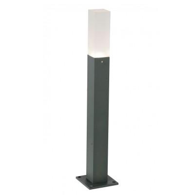 Светильник St Luce SL101.705.01Одиночные столбы<br>Если Вы настроены купить светильник модели SL10170501, то обратите внимание: Простота и лаконичность, строгость и изысканность присущи моделям коллекции Vivo. Массивное металлическое основании выполнено в виде призмы и окрашено в строгий черный или серый цвет. Мягкие лучи источника света LED равномерно рассеиваются белым матовым стеклом плафона. . Уличные лампы коллекции Vivo наполнят мягким светом всю придомовую территорию, предоставят возможность проводить приятные вечера в компании друзей на террасе.<br><br>Цветовая t, К: 4000<br>Тип лампы: LED<br>Тип цоколя: LED<br>Ширина, мм: 38<br>MAX мощность ламп, Вт: 3<br>Длина, мм: 38<br>Высота, мм: 400