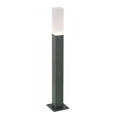 Светильник St Luce SL101.715.01Одиночные столбы<br>Если Вы настроены купить светильник модели SL10171501, то обратите внимание: Простота и лаконичность, строгость и изысканность присущи моделям коллекции Vivo. Массивное металлическое основании выполнено в виде призмы и окрашено в строгий черный или серый цвет. Мягкие лучи источника света LED равномерно рассеиваются белым матовым стеклом плафона. . Уличные лампы коллекции Vivo наполнят мягким светом всю придомовую территорию, предоставят возможность проводить приятные вечера в компании друзей на террасе.<br><br>Цветовая t, К: 4000<br>Тип лампы: LED<br>Тип цоколя: LED<br>Ширина, мм: 38<br>MAX мощность ламп, Вт: 3<br>Длина, мм: 38<br>Высота, мм: 800