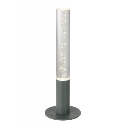 Светильник St Luce SL102.705.01Одиночные столбы<br>Если Вы настроены купить светильник модели SL10270501, то обратите внимание: Модели коллекции Fluido наполнят светом и романтическим настроением участок зогородного дома, дачи, осветят дорожки.Основания светильников изготовлены из металла и окрашены в черный или серый цвет. Плафоны из прозрачного стекла наполнены пузырьками. Стоит включить светильник Fluido, как в воздухе начинает витать ощущение загадки и праздника. Эти светильники очаровывают , создают приподнятое настроение и располагающую атмосферу для вечерних чаепитий .<br><br>Цветовая t, К: 4000<br>Тип лампы: LED<br>Тип цоколя: LED<br>MAX мощность ламп, Вт: 3<br>Диаметр, мм мм: 38<br>Высота, мм: 400