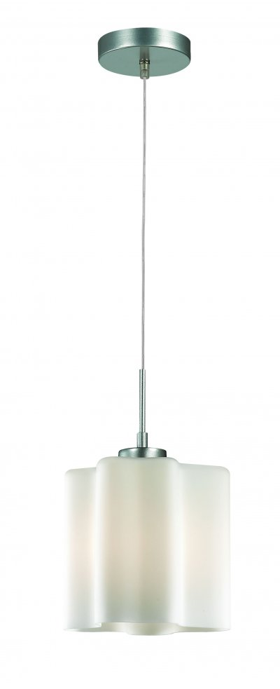 Светильник подвесной St luce SL116.503.01Одиночные<br>Касаемо коллекции модели St luce SL116.503.01 хотелось бы отметить основные моменты: Оригинальные дизайнерские плафоны волнообразной формы в серии Onde никого не оставят равнодушными. Они будут изящно смотреться как в интерьере модерн, так и в стиле хай-тек. Плафоны предлагаются в двух вариантах: белое матовое стекло и белое глянцевое стекло с изящными полосками в структуре стекла. Каждый плафон изготавливается вручную, поэтому форма каждого плафона является уникальной и неповторимой. Эта коллекция приходится по вкусу многим дизайнерам и покупателям из-за компактности, пропорций, практичности и стильных форм.<br><br>Крепление: планка<br>Тип лампы: накаливания / энергосбережения / LED-светодиодная<br>Тип цоколя: E27<br>Количество ламп: 1<br>Ширина, мм: 190<br>MAX мощность ламп, Вт: 60<br>Диаметр, мм мм: 190<br>Длина, мм: 190<br>Высота, мм: 220<br>Поверхность арматуры: матовая<br>Оттенок (цвет): серебристный<br>Цвет арматуры: белый