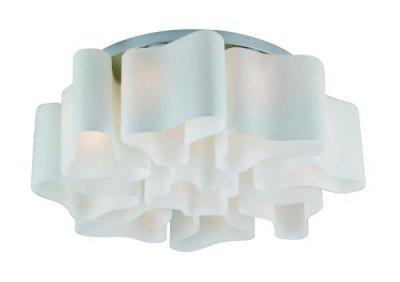 Светильник потолочный St luce SL118.502.09Потолочные<br>Касаемо коллекции модели St luce SL118.502.09 хотелось бы отметить основные моменты: Дизайнерские плафоны люстр коллекции Onde 2 выглядят изящно и эксклюзивно. Эти светильники будут отлично смотреться и в интерьере модерн, и в стиле хай-тек. Основание светильников изготовлено из белого матового стекла вручную. Трехлопастная форма каждого из них оригинальна и неповторима.<br><br>Установка на натяжной потолок: Ограничено<br>S освещ. до, м2: 36<br>Крепление: Планка<br>Тип лампы: накаливания / энергосбережения / LED-светодиодная<br>Тип цоколя: E27<br>Количество ламп: 9<br>Ширина, мм: 720<br>MAX мощность ламп, Вт: 60<br>Диаметр, мм мм: 720<br>Длина, мм: 720<br>Высота, мм: 230<br>Поверхность арматуры: матовая<br>Оттенок (цвет): серебристный<br>Цвет арматуры: белый