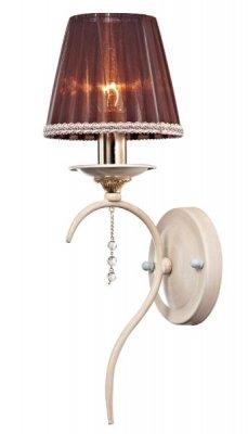 Светильник St luce SL125.521.01Классика<br><br><br>S освещ. до, м2: 4<br>Тип товара: Светильник настенный бра<br>Тип лампы: накаливания / энергосбережения / LED-светодиодная<br>Тип цоколя: E14<br>Количество ламп: 1<br>Ширина, мм: 170<br>MAX мощность ламп, Вт: 60<br>Длина, мм: 155<br>Высота, мм: 410<br>Оттенок (цвет): бежевый<br>Цвет арматуры: белый с золотистой патиной