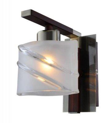 Светильник St luce SL147.301.01Снято с производства<br><br><br>S освещ. до, м2: 2<br>Тип товара: Светильник настенный бра<br>Тип лампы: галогенная / LED-светодиодная<br>Тип цоколя: G9<br>Количество ламп: 1<br>Ширина, мм: 120<br>MAX мощность ламп, Вт: 40<br>Длина, мм: 180<br>Высота, мм: 140<br>Оттенок (цвет): бронзовый<br>Цвет арматуры: Бронза-Кофе