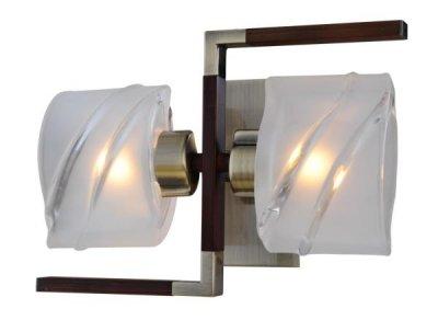 Светильник St luce SL147.301.02Архив<br><br><br>S освещ. до, м2: 5<br>Тип лампы: галогенная / LED-светодиодная<br>Тип цоколя: G9<br>Цвет арматуры: Бронза-Кофе<br>Количество ламп: 2<br>Ширина, мм: 175<br>Длина, мм: 140<br>Высота, мм: 250<br>Оттенок (цвет): бронзовый<br>MAX мощность ламп, Вт: 40