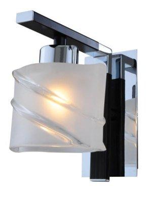 Светильник St luce SL147.801.01Архив<br><br><br>S освещ. до, м2: 2<br>Тип лампы: галогенная / LED-светодиодная<br>Тип цоколя: G9<br>Цвет арматуры: Хром-Венге<br>Количество ламп: 1<br>Ширина, мм: 120<br>Длина, мм: 180<br>Высота, мм: 140<br>Оттенок (цвет): под дерево<br>MAX мощность ламп, Вт: 40