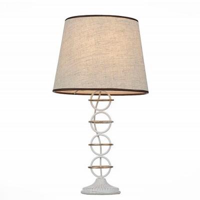 Светильник St Luce SL156.504.01Современные<br>Настольная лампа – это не просто источник дополнительного освещения, но и оригинальный элемент декора. Его можно установить в спальне, гостиной, кабинете и других комнатах. Интернет-магазин «Светодом» предлагает настольные лампы разных стилей по доступным ценам. Благодаря большому ассортименту Вы обязательно найдете в нашем каталоге именно ту модель, которую искали. <br> Настольная лампа St luce SL156.504.01 – прекрасный вариант для завершения интерьера. Ее можно включить одновременно с люстрой для более яркого освещения или без нее для создания уютной атмосферы, настраивающей на отдых. <br> Купить настольную лампу St luce SL156.504.01 Вы можете с помощью виртуальной «Корзины» или по контактным номерам, указанным на сайте.<br><br>Тип лампы: Накаливания / энергосбережения / светодиодная<br>Тип цоколя: E14<br>MAX мощность ламп, Вт: 40<br>Диаметр, мм мм: 170<br>Высота, мм: 460