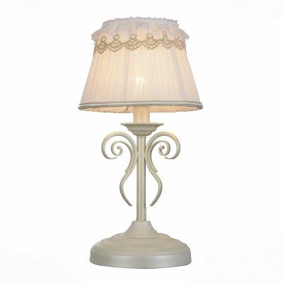 Светильник St Luce SL158.504.01Классические<br>Настольная лампа – это не просто источник дополнительного освещения, но и оригинальный элемент декора. Его можно установить в спальне, гостиной, кабинете и других комнатах. Интернет-магазин «Светодом» предлагает настольные лампы разных стилей по доступным ценам. Благодаря большому ассортименту Вы обязательно найдете в нашем каталоге именно ту модель, которую искали. <br> Настольная лампа St luce SL158.504.01 – прекрасный вариант для завершения интерьера. Ее можно включить одновременно с люстрой для более яркого освещения или без нее для создания уютной атмосферы, настраивающей на отдых. <br> Купить настольную лампу St luce SL158.504.01 Вы можете с помощью виртуальной «Корзины» или по контактным номерам, указанным на сайте.<br><br>Тип лампы: Накаливания / энергосбережения / светодиодная<br>Тип цоколя: E14<br>MAX мощность ламп, Вт: 40<br>Диаметр, мм мм: 220<br>Высота, мм: 420