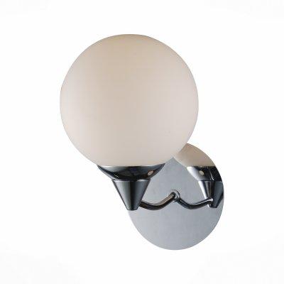 Светильник St Luce SL179.101.01Модерн<br><br><br>Тип товара: Светильник настенный бра<br>Тип лампы: Накаливания / энергосбережения / светодиодная<br>Тип цоколя: E14<br>Количество ламп: 1<br>Ширина, мм: 140<br>MAX мощность ламп, Вт: 40<br>Высота, мм: 180