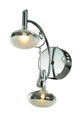 Светильник St luce SL207.101.02Хай-тек<br><br><br>S освещ. до, м2: 2<br>Тип товара: Светильник настенный бра<br>Тип лампы: галогенная / LED-светодиодная<br>Тип цоколя: G4<br>Количество ламп: 2<br>Ширина, мм: 100<br>MAX мощность ламп, Вт: 20<br>Длина, мм: 225<br>Высота, мм: 250<br>Оттенок (цвет): серебристый<br>Цвет арматуры: серебристый