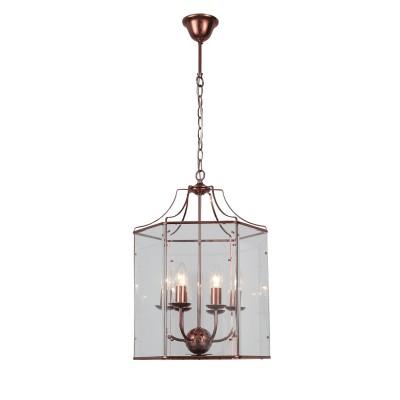 Светильник St Luce SL228.603.06Подвесные<br><br><br>Установка на натяжной потолок: Да<br>S освещ. до, м2: 12<br>Тип лампы: Накаливания / энергосбережения / светодиодная<br>Тип цоколя: E14<br>Количество ламп: 6<br>MAX мощность ламп, Вт: 40<br>Диаметр, мм мм: 400<br>Высота, мм: 980 - 1500<br>Цвет арматуры: медный