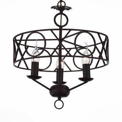 Светильник подвесной St luce SL231.403.03Подвесные<br>Если Вы настроены купить светильник модели SL23140303, то обратите внимание: Грубая простота и естественность отличают люстры коллекции Forza . Готический дизайн привлекает сочетанием классических деталей с современными элементами. Конструкция из чёрного металла станет источником основного освещения и ярким стильным акцентом зон, предназначенных для отдыха и встреч с друзьями.<br><br>Установка на натяжной потолок: Да<br>S освещ. до, м2: 6<br>Крепление: Крюк<br>Тип лампы: накаливания / энергосбережения / LED-светодиодная<br>Тип цоколя: E14<br>Количество ламп: 3<br>MAX мощность ламп, Вт: 40<br>Диаметр, мм мм: 380<br>Длина цепи/провода, мм: 1200<br>Высота, мм: 420<br>Поверхность арматуры: матовая<br>Оттенок (цвет): коричневый<br>Цвет арматуры: черный