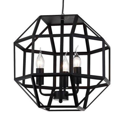 Светильник подвесной St luce SL232.403.03Подвесные<br><br><br>Установка на натяжной потолок: Да<br>Крепление: Планка<br>Тип товара: Люстра подвесная<br>Тип лампы: накаливания / энергосбережения / LED-светодиодная<br>Тип цоколя: E14<br>Количество ламп: 3<br>MAX мощность ламп, Вт: 40<br>Диаметр, мм мм: 380<br>Длина цепи/провода, мм: 1200<br>Высота, мм: 370<br>Поверхность арматуры: матовая<br>Оттенок (цвет): черный<br>Цвет арматуры: черный