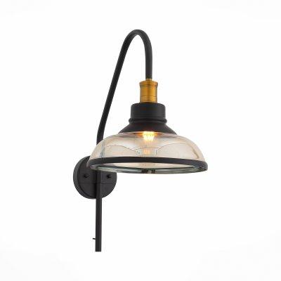 Светильник бра SL263.401.01 St luce CORATIОжидается<br><br><br>S освещ. до, м2: 3<br>Крепление: Планка<br>Тип лампы: Накаливания<br>Тип цоколя: E27<br>Цвет арматуры: Черный, бронзовый<br>Количество ламп: 1<br>Ширина, мм: 275<br>Высота, мм: 580<br>Поверхность арматуры: Матовая<br>MAX мощность ламп, Вт: 60<br>Общая мощность, Вт: 60