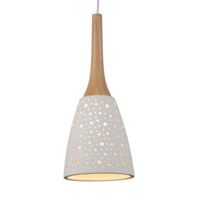 Светильник подвесной St luce SL288.503.01Одиночные<br><br><br>Крепление: на планку<br>Тип товара: Подвесной светильник<br>Тип лампы: накаливания / энергосбережения / LED-светодиодная<br>Тип цоколя: E27<br>Количество ламп: 1<br>MAX мощность ламп, Вт: 60<br>Диаметр, мм мм: 170<br>Длина цепи/провода, мм: 1100<br>Высота, мм: 420<br>Поверхность арматуры: матовая<br>Оттенок (цвет): белый<br>Цвет арматуры: белый, светлое дерево