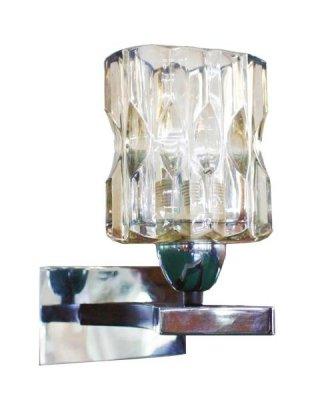 Светильник St luce SL301.701.01Архив<br><br><br>S освещ. до, м2: 4<br>Тип лампы: накаливания / энергосбережения / LED-светодиодная<br>Тип цоколя: E14<br>Цвет арматуры: Хром-Венге<br>Количество ламп: 1<br>Ширина, мм: 120<br>Длина, мм: 210<br>Высота, мм: 200<br>Оттенок (цвет): под дерево<br>MAX мощность ламп, Вт: 60
