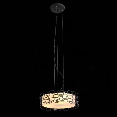 Светильник SL304.403.03 St luceПодвесные<br><br><br>Тип лампы: Накаливания / энергосбережения / светодиодная<br>Тип цоколя: E27<br>Цвет арматуры: черный<br>Количество ламп: 3<br>Диаметр, мм мм: 400<br>Высота полная, мм: 1200<br>Высота, мм: 130<br>MAX мощность ламп, Вт: 60