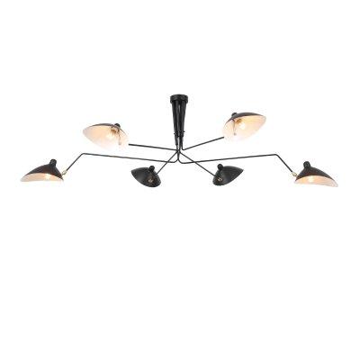 Светильник потолочный SL305.402.06 St luceОжидается<br><br><br>Тип цоколя: E27<br>Количество ламп: 6<br>MAX мощность ламп, Вт: 60