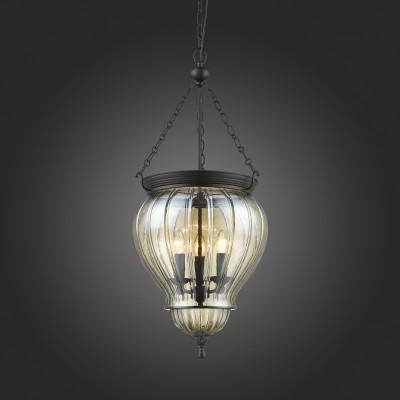 Люстра подвесная St luce SL317.433.03 SottoПодвесные<br>Модели коллекции Sotto привлекательны своим стильным, оригинальным и при этом весьма компактным исполнением. В их облике переплелись штрихи различных стилей, в совокупности образующие прекрасную концепцию. Плафон светильника округлой формы выполнен из прозрачного или янтарного стекла , основание - из металла черного матированного цвета.Эти люстры станут отличным решением и для освещения пространства интерьеров квартиры, и для уютного интерьера загородного дома. Простота и универсальность вместе с тонкой эстетикой делают светильники Sotto чудесным вариантом для неисчислимого множества дизайнерских композиций.<br><br>S освещ. до, м2: 6<br>Крепление: планка<br>Тип лампы: накаливания / энергосбережения / LED-светодиодная<br>Тип цоколя: E14<br>Цвет арматуры: черный<br>Количество ламп: 3<br>Диаметр, мм мм: 390<br>Высота, мм: 1200<br>Поверхность арматуры: матовая<br>MAX мощность ламп, Вт: 40