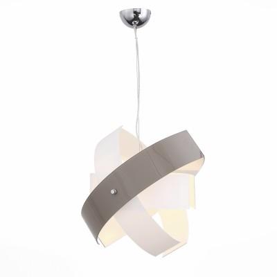 Светильник St luce SL338.503.01Одиночные<br>Если Вы настроены купить светильник модели SL33850301, то обратите внимание: Светильники коллекции Ovvio - идеальное решение для стильного современного интерьера. Они выполнены в гармоничной цветовой гамме – хромированное металлическое основание и плафоны из стекла белого цвета и серого с оттенком коричневого . Источники света обеспечивают мягкое распределение светового потока. Владелец светильника может проявить фантазию и по своему усмотрению менять расположение и направление деталей, трансформировать составные части светильника.<br><br>S освещ. до, м2: 3<br>Тип лампы: Накаливания / энергосбережения / светодиодная<br>Тип цоколя: E27<br>Количество ламп: 1<br>MAX мощность ламп, Вт: 60<br>Диаметр, мм мм: 500<br>Высота, мм: 500 - 1200