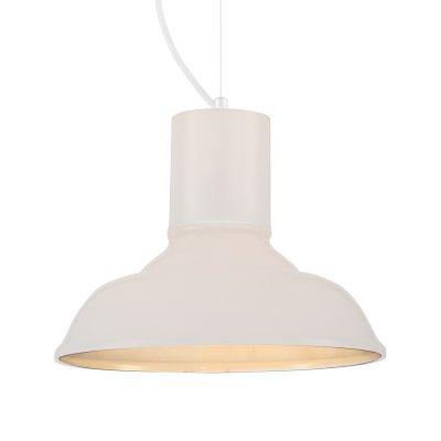 Светильник подвесной St luce SL339.503.01Одиночные<br><br><br>Крепление: на планку<br>Тип товара: Подвесной светильник<br>Тип лампы: накаливания / энергосбережения / LED-светодиодная<br>Тип цоколя: E27<br>Количество ламп: 1<br>MAX мощность ламп, Вт: 60<br>Диаметр, мм мм: 280<br>Длина цепи/провода, мм: 1100<br>Высота, мм: 200<br>Поверхность арматуры: матовая<br>Оттенок (цвет): белый<br>Цвет арматуры: Белый