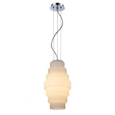 Светильник St Luce SL343.553.01Одиночные<br>Если Вы настроены купить светильник модели SL34355301, то обратите внимание: Люстра Bozzolo- это оригинальный подвесной светильник, напоминающий небесный фонарик – классический китайский декоративный элемент. Он символизирует начало нового и прекрасного. Стеклянный плафон нежного пастельного оттенка словно сделан из тончайшей рисовой бумаги, подвешенной на изящные металлические «нити». Светильник Bozzlo идеально подойдет для интерьеров в романтическом или классическом стиле. В хай-тек интерьере люстра станет запоминающейся деталью, разбавляющей строгий минимализм.<br><br>S освещ. до, м2: 3<br>Тип лампы: Накаливания / энергосбережения / светодиодная<br>Тип цоколя: E27<br>Количество ламп: 1<br>Диаметр, мм мм: 200<br>Высота, мм: 1300<br>MAX мощность ламп, Вт: 60