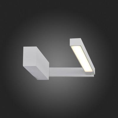 Светильник настенный SL440.001.01 St luce CORTOБра хай тек стиля<br><br><br>S освещ. до, м2: 5<br>Крепление: Планка<br>Цветовая t, К: 4000K<br>Тип лампы: LED - светодиодная<br>Тип цоколя: LED, встроенные светодиоды<br>Цвет арматуры: серебристый<br>Количество ламп: 1<br>Длина, мм: 415<br>Высота, мм: 60<br>Поверхность арматуры: Матовая<br>Оттенок (цвет): серебристый<br>MAX мощность ламп, Вт: 12<br>Общая мощность, Вт: 12