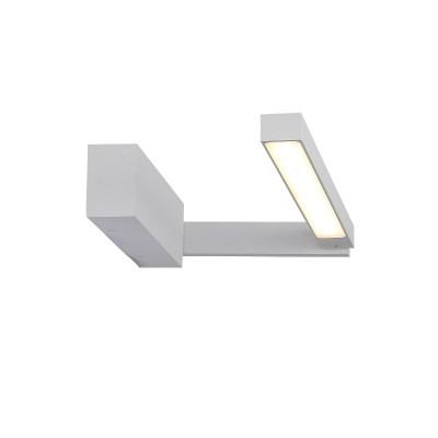 Светильник настенный SL440.501.01 St luce CORTOБра хай тек стиля<br><br><br>S освещ. до, м2: 5<br>Крепление: Планка<br>Цветовая t, К: 4000K<br>Тип лампы: LED - светодиодная<br>Тип цоколя: LED, встроенные светодиоды<br>Цвет арматуры: Белый<br>Количество ламп: 1<br>Длина, мм: 415<br>Высота, мм: 60<br>Поверхность арматуры: Матовая<br>Оттенок (цвет): белый<br>MAX мощность ламп, Вт: 12<br>Общая мощность, Вт: 12