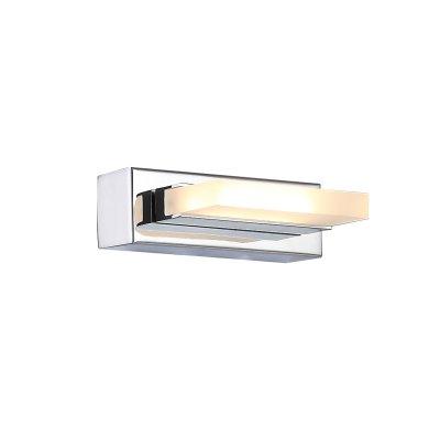 Светильник настенный SL441.101.01 St luce CONTEMPOОжидается<br><br><br>S освещ. до, м2: 2,5<br>Крепление: Планка<br>Цветовая t, К: 4000K<br>Тип лампы: Светодиодная<br>Тип цоколя: LED<br>Цвет арматуры: серебристый хром<br>Количество ламп: 1<br>Длина, мм: 140<br>Высота, мм: 45<br>Поверхность арматуры: Глянцевая<br>MAX мощность ламп, Вт: 6<br>Общая мощность, Вт: 6