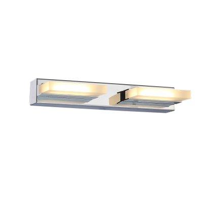 Светильник настенный SL441.101.02 St luce CONTEMPOОжидается<br><br><br>S освещ. до, м2: 5<br>Крепление: Планка<br>Цветовая t, К: 4000K<br>Тип лампы: Светодиодная<br>Тип цоколя: LED<br>Цвет арматуры: серебристый хром<br>Количество ламп: 2<br>Длина, мм: 280<br>Высота, мм: 45<br>Поверхность арматуры: Глянцевая<br>MAX мощность ламп, Вт: 6<br>Общая мощность, Вт: 12