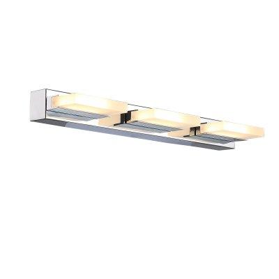 Светильник настенный SL441.101.03 St luce CONTEMPOОжидается<br><br><br>S освещ. до, м2: 7,5<br>Крепление: Планка<br>Цветовая t, К: 4000K<br>Тип лампы: Светодиодная<br>Тип цоколя: LED<br>Цвет арматуры: серебристый хром<br>Количество ламп: 3<br>Длина, мм: 450<br>Высота, мм: 45<br>Поверхность арматуры: Глянцевая<br>MAX мощность ламп, Вт: 6<br>Общая мощность, Вт: 18