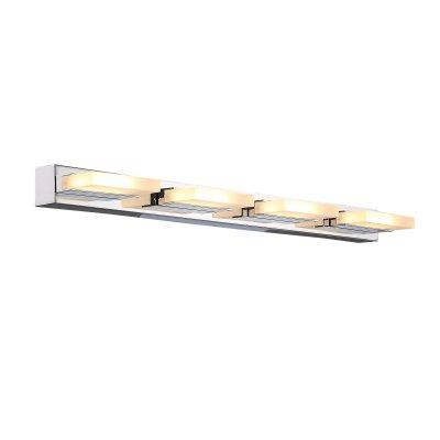 Светильник настенный SL441.101.04 St luce CONTEMPOОжидается<br><br><br>S освещ. до, м2: 10<br>Крепление: Планка<br>Цветовая t, К: 4000K<br>Тип лампы: Светодиодная<br>Тип цоколя: LED<br>Цвет арматуры: серебристый хром<br>Количество ламп: 4<br>Длина, мм: 620<br>Высота, мм: 45<br>Поверхность арматуры: Глянцевая<br>MAX мощность ламп, Вт: 6<br>Общая мощность, Вт: 24