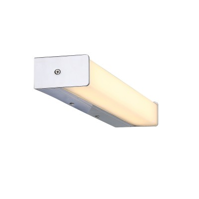 Светильник настенный SL442.101.01 St luce BREVIдлинные настенно-потолочные светильники<br><br><br>S освещ. до, м2: 6,5<br>Крепление: Планка<br>Цветовая t, К: 4000K<br>Тип лампы: Накаливания / энергосбережения / светодиодная<br>Тип цоколя: LED, встроенные светодиоды<br>Цвет арматуры: серебристый<br>Количество ламп: 1<br>Длина, мм: 495<br>Высота, мм: 50<br>Поверхность арматуры: Глянцевая<br>Оттенок (цвет): серебристый<br>MAX мощность ламп, Вт: 16<br>Общая мощность, Вт: 16