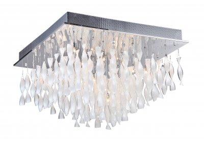 Светильник потолочный St luce SL450.502.20хрустальные потолочные люстры<br>Касаемо коллекции модели St luce SL450.502.20 хотелось бы отметить основные моменты: Струящиеся стеклянные и металлические спирали люстр серии Arric сразу делают эти светильники ярким акцентом интерьера в стиле модерн или других современных стилях. Изделия представлены в трёх вариантах: белое и красное стекло, а также металлический хром. Арматура светильников выполнена из металла с покрытием хром.<br><br>Установка на натяжной потолок: Да<br>S освещ. до, м2: 26<br>Крепление: планка<br>Тип лампы: галогенная / LED-светодиодная<br>Тип цоколя: G4<br>Цвет арматуры: серебристый<br>Количество ламп: 20<br>Ширина, мм: 680<br>Длина, мм: 680<br>Высота, мм: 410<br>Поверхность арматуры: глянцевая<br>Оттенок (цвет): белый<br>MAX мощность ламп, Вт: 20