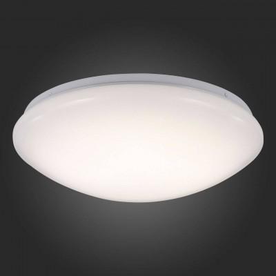 Светильник настенно-потолочный St luce SL470.551.01Круглые<br><br><br>Крепление: на планку<br>Тип товара: Светильник настенно-потолочный<br>Скидка, %: 25<br>Цветовая t, К: CW - холодный белый 4000 К<br>Тип лампы: LED - светодиодная<br>Тип цоколя: LED<br>Количество ламп: 1<br>MAX мощность ламп, Вт: 18<br>Диаметр, мм мм: 350<br>Высота, мм: 100<br>Поверхность арматуры: матовая<br>Оттенок (цвет): белый<br>Цвет арматуры: белый