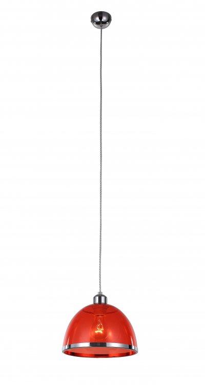Светильник подвесной St luce SL481.603.01Одиночные<br>Если Вы настроены купить светильник модели SL48160301, то обратите внимание: Светильники коллекции Letizia безупречны в своем внешнем великолепии и техническом совершенстве. Дизайн предельно лаконичен. Основание и декоративный ободок на плафоне выполнены из металла, окрашенного в цвет хром, а плафон изготовлен из прозрачного стекла.Изюминка коллекции – сочетание простой классической формы и яркого дизайна.Цветовая гамма на любой вкус : прозрачное «стекло», жемчужный металлик, черный, красный, зеленый и фиолетовый. Модели коллекции Letizia гармонично подчеркивают уникальность и строгого классического интерьера, и современный дизайн.<br><br>S освещ. до, м2: 3<br>Крепление: на планку<br>Тип лампы: накаливания / энергосбережения / LED-светодиодная<br>Тип цоколя: E27<br>Количество ламп: 1<br>MAX мощность ламп, Вт: 60<br>Диаметр, мм мм: 230<br>Высота, мм: 1200<br>Поверхность арматуры: глянцевая<br>Цвет арматуры: серебристый хром
