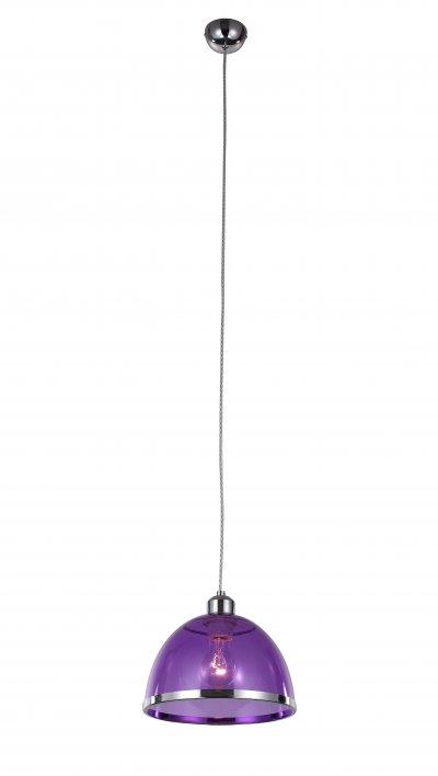 Светильник подвесной St luce SL481.803.01снятые с производства светильники<br>Если Вы настроены купить светильник модели SL48180301, то обратите внимание: Светильники коллекции Letizia безупречны в своем внешнем великолепии и техническом совершенстве. Дизайн предельно лаконичен. Основание и декоративный ободок на плафоне выполнены из металла, окрашенного в цвет хром, а плафон изготовлен из прозрачного стекла.Изюминка коллекции – сочетание простой классической формы и яркого дизайна.Цветовая гамма на любой вкус : прозрачное «стекло», жемчужный металлик, черный, красный, зеленый и фиолетовый. Модели коллекции Letizia гармонично подчеркивают уникальность и строгого классического интерьера, и современный дизайн.<br><br>Крепление: на планку<br>Тип лампы: накаливания / энергосбережения / LED-светодиодная<br>Тип цоколя: E27<br>Цвет арматуры: серебристый хром<br>Количество ламп: 1<br>Диаметр, мм мм: 230<br>Высота, мм: 1200<br>Поверхность арматуры: глянцевая<br>MAX мощность ламп, Вт: 60