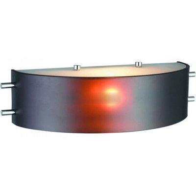 Светильник St luce SL484.701.01Модерн<br><br><br>S освещ. до, м2: 4<br>Тип товара: Светильник настенный бра<br>Тип лампы: накаливания / энергосбережения / LED-светодиодная<br>Тип цоколя: E14<br>Количество ламп: 1<br>Ширина, мм: 120<br>MAX мощность ламп, Вт: 60<br>Длина, мм: 315<br>Высота, мм: 90<br>Оттенок (цвет): коричневый<br>Цвет арматуры: коричневый